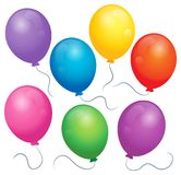 Balloons theme image 1 Stock Photos