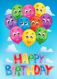 Balloons theme image 6 Stock Image