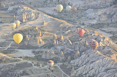 Balloons in Turkey Royalty Free Stock Photography