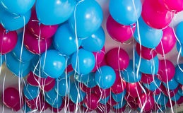 Balloons Up Stock Photo