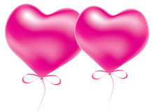 Balloons for valentine's day Royalty Free Stock Photo