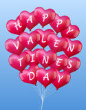 Balloons Valentines Stock Photos