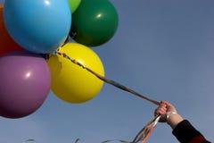 balloons variopinto Fotografie Stock Libere da Diritti