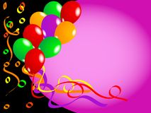 Balloons vector Stock Images