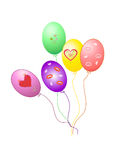Balloons vector EPS 10 Stock Photos