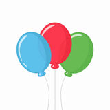 Balloons vector illustration Royalty Free Stock Photo
