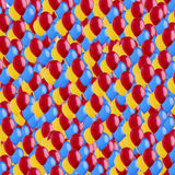 Balloons wallpaper Stock Photos