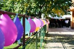 Balloons for wedding Stock Photography