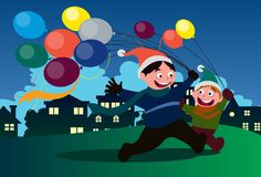 Balloons for You And Me Royalty Free Stock Image