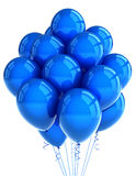 ballooons蓝色当事人 免版税库存图片