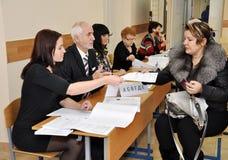 ballot получает избирателя Стоковая Фотография RF