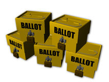 Ballot box Stock Image