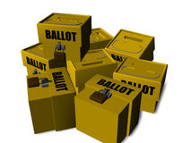 Ballot box Royalty Free Stock Photos