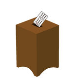 Ballot box Stock Image