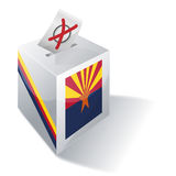 Ballot box Arizona Royalty Free Stock Photos