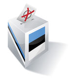 Ballot box Estonia Royalty Free Stock Photo