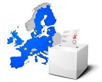 Ballot box Europe Stock Photos