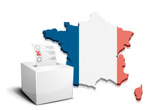 Ballot box France Stock Photography