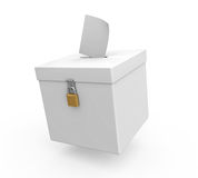 Ballot Box Isolated Stock Images