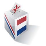 Ballot box Netherlands royalty free illustration