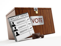 Ballot box Stock Images