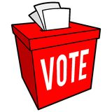 Ballot Box Symbol Stock Photo