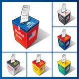 Ballot box USA. Royalty Free Stock Photos
