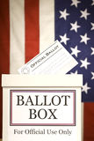 Ballot Box Vertical Stock Photo