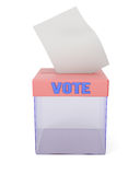Ballot box Royalty Free Stock Photography