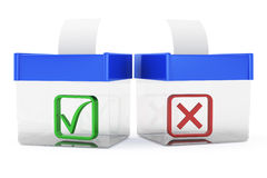 Ballot boxes Royalty Free Stock Image
