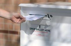 Ballot drop off of husband and wife's ballot