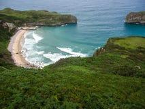 Ballota beach, Asturia y Cantabria, Spain Stock Image