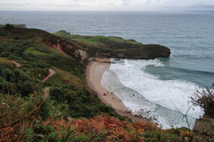 Ballota Beach near Llanes villag Stock Photography