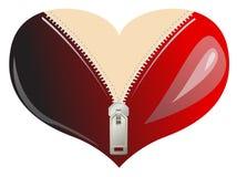 Ballots de coeur d'amour Images libres de droits