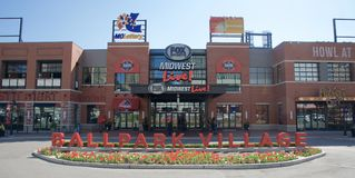 Ballpark Village, Downtown St. Louis, Missouri. Stock Photo