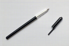 Ballpen without cap Royalty Free Stock Photography
