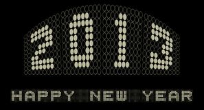 Ballplay 2013 lyckliga nya år vektor illustrationer