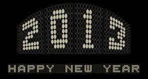 Ballplay 2013 szczęśliwych nowy rok Zdjęcie Stock