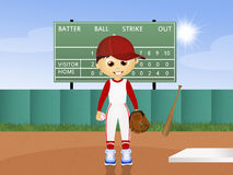 Ballplayer Royalty Free Stock Photo