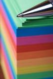 ballpoint πέννα σημειωματάριων Στοκ Εικόνες