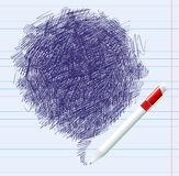 Ballpoint background Royalty Free Stock Photo