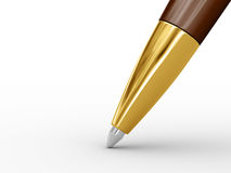 Ballpoint pen. Royalty Free Stock Image