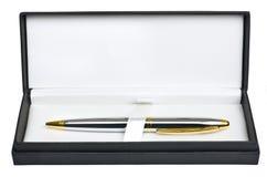 Ballpoint pen in box Stock Photography