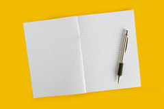Ballpoint Pen and Notebook Royalty Free Stock Image