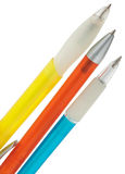 Ballpoint pens Royalty Free Stock Photos
