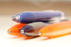 Ballpoint pens Royalty Free Stock Photography