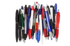 Ballpoint Pens Stock Photos