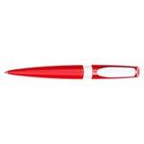 Ballpoint pióra czerwień Fotografia Royalty Free
