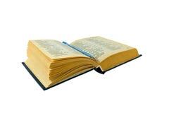 ballpoint słownika rosyjska pisownia Zdjęcie Stock