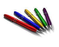 Ballpoints Imagem de Stock Royalty Free